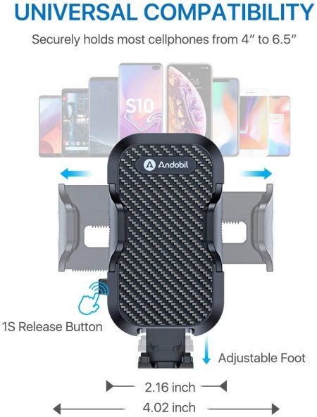 car phone air vent mount