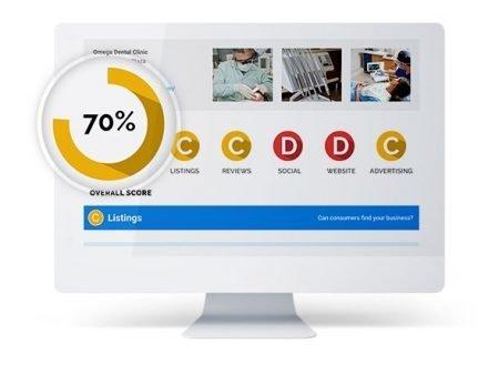 digital audit report screen